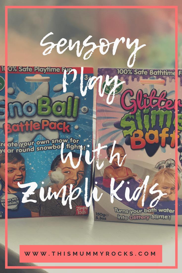 Sensory Play With Zimpli Kids pin