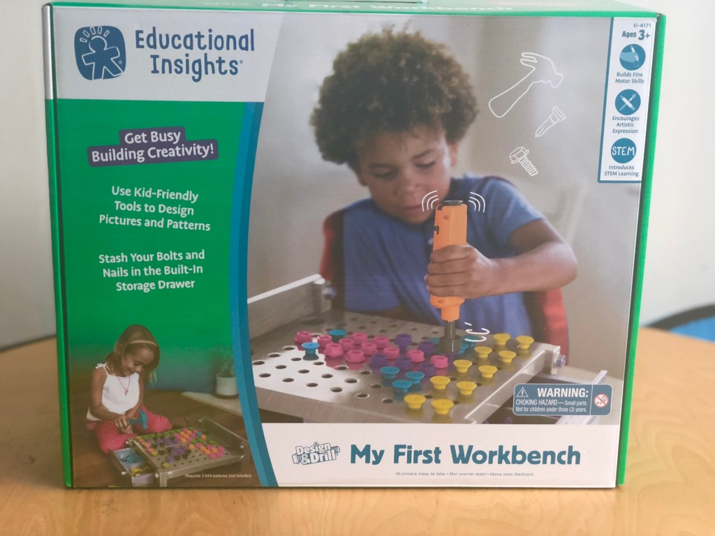 Learning Resources Design & Drill® My First Workbench Review