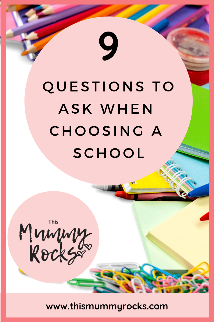Questions To Ask When Choosing A School PIN