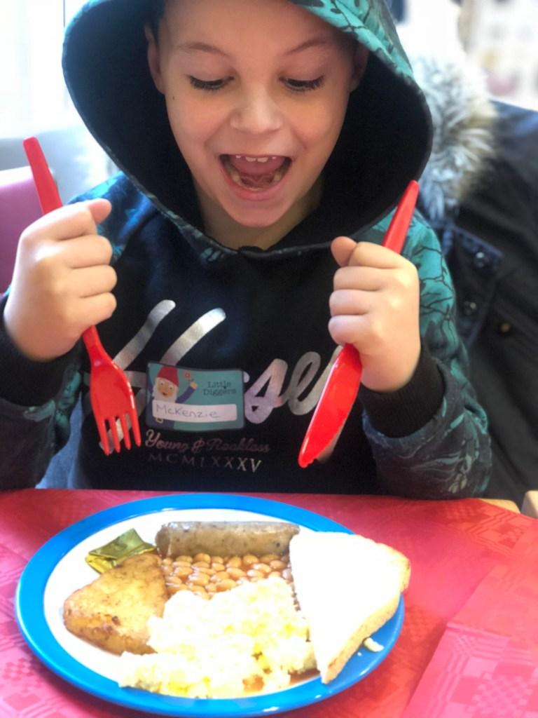 wyevale garden centre childrens breakfast
