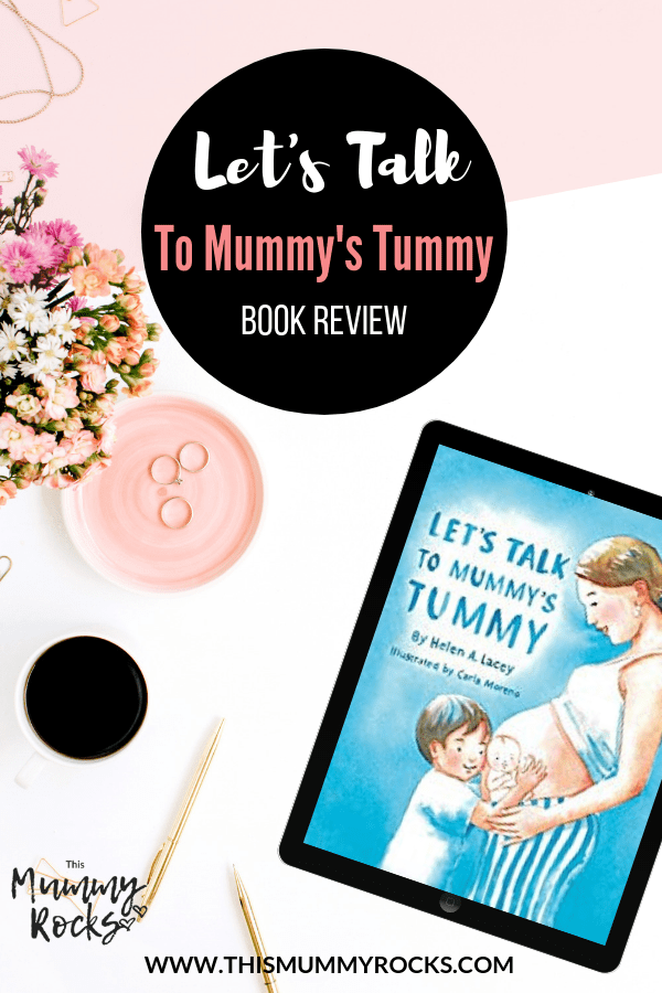 lets talk to mummys tummy book review pin graphic