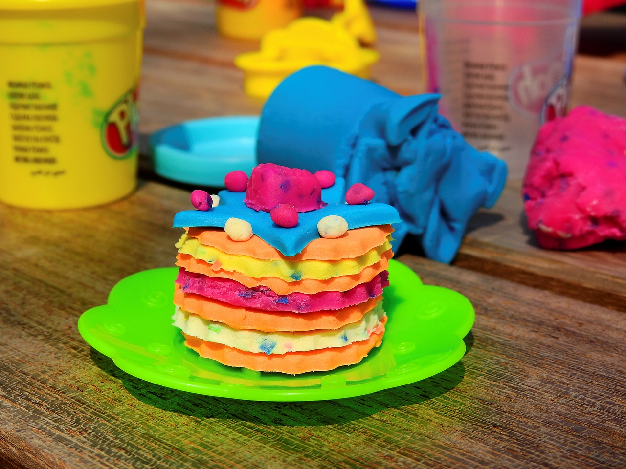 the benefits of play dough. play dough creation