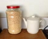breakfast basics, teapot, cereal jar this mum rocks
