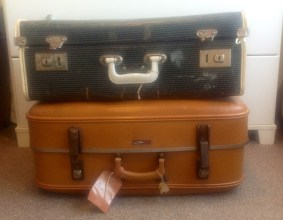 Vintage suitcases vulcanite this mum rocks