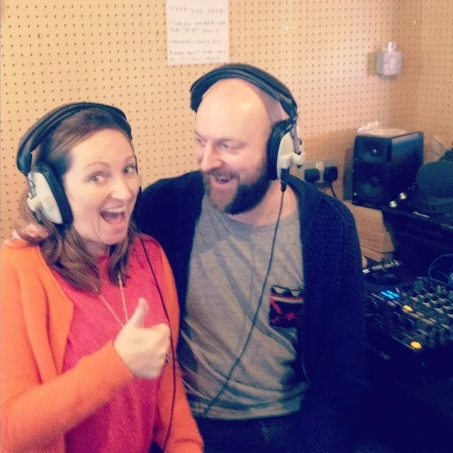 Duncan & Jo at Soho Radio