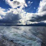 canale di beagle vista verso Isla navarino
