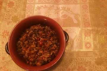 riso biryani di verdure