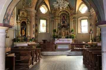 interni Chiesa di Glorenza