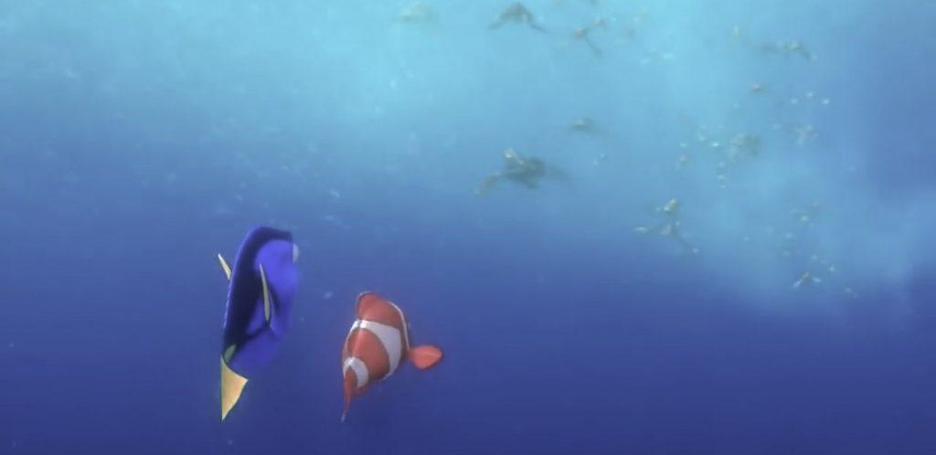 Nemo and Dory enter EAC