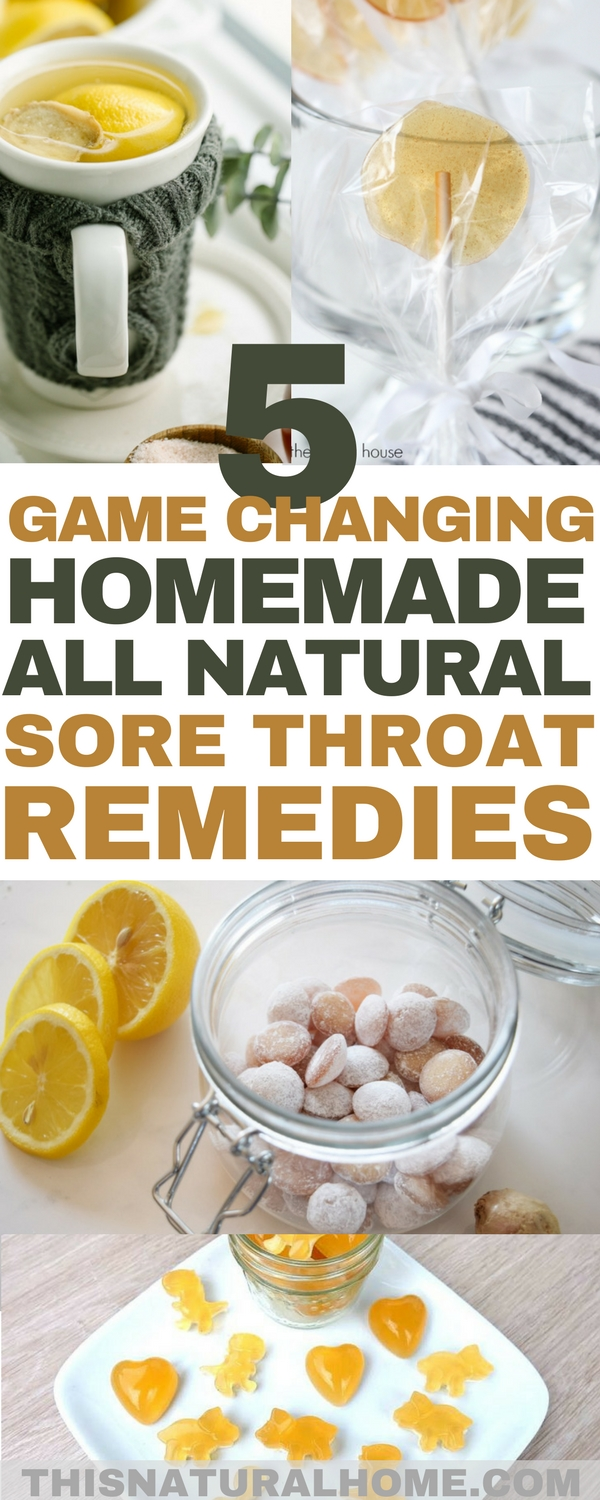 These amazing sore throat remedies are simply game changing! I mean, having a lollipop to soothe your throat? Yes, please!