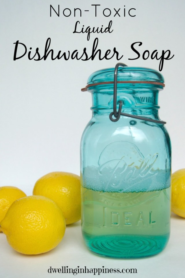 Get the toxins out of your kitchen! These DIYs will leave you with a perfectly non-toxic kitchen!