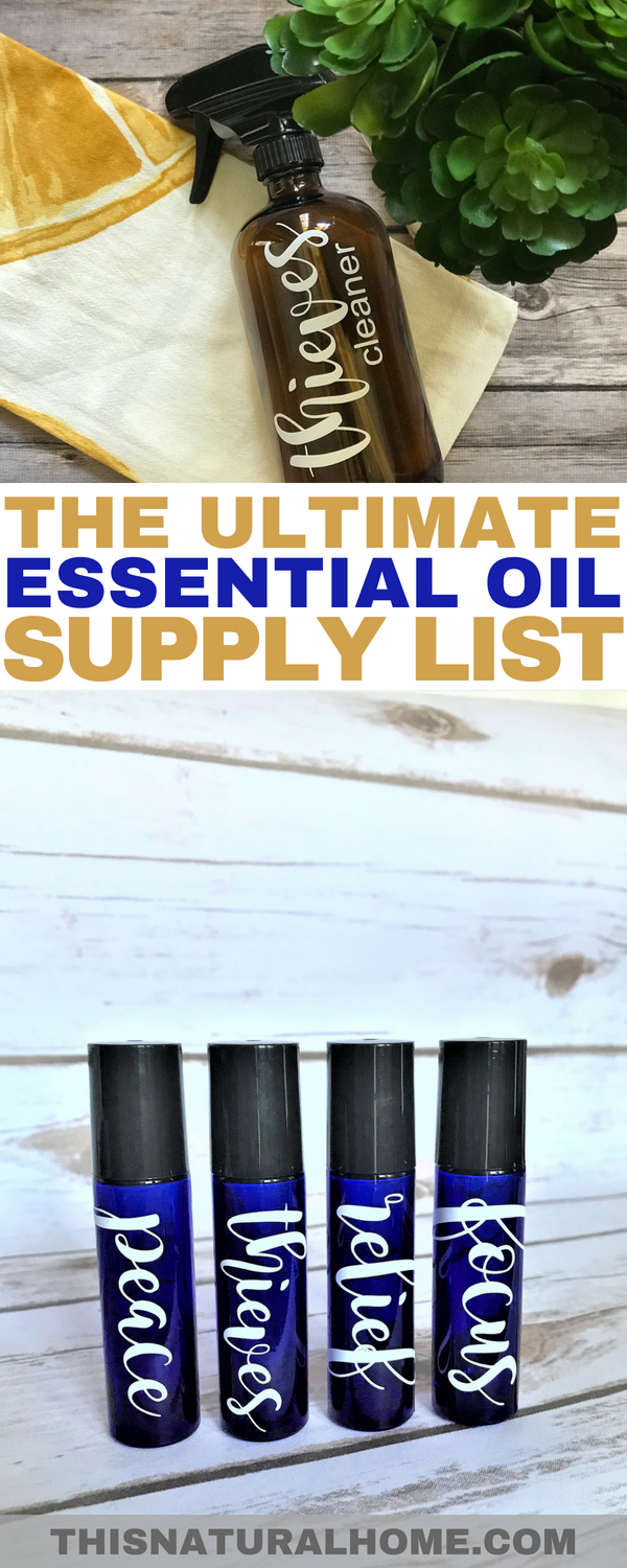 After you get your Young Living essential oil starter kit, you'll probably want to #makeallthethings with your oils. If so, find all of the essential oil supplies you could possibly want right here.
