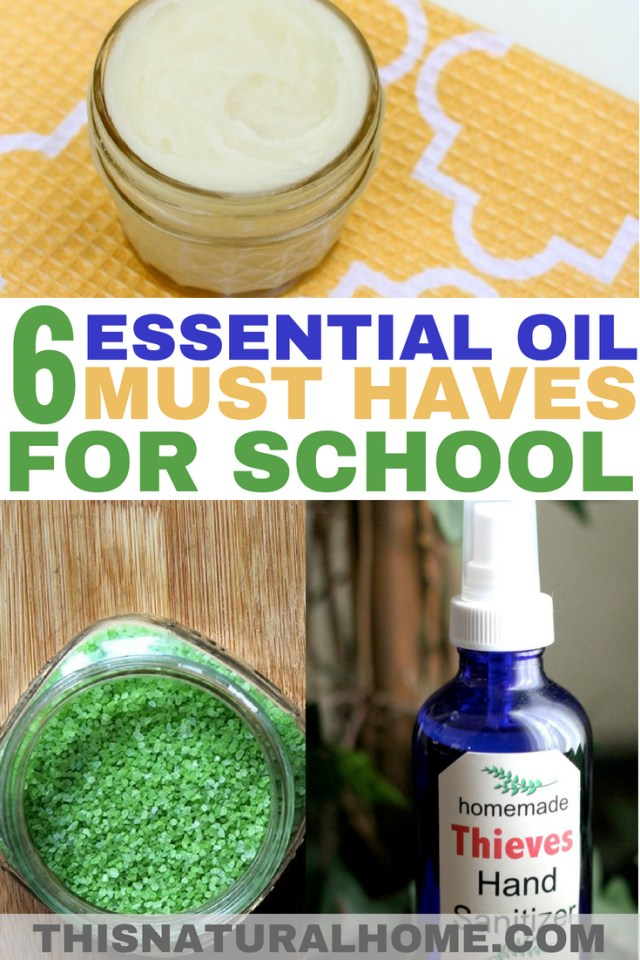 Don't let school germs get the best of you and your kids! Kick those germs to the curb with these essential oil must haves for school!