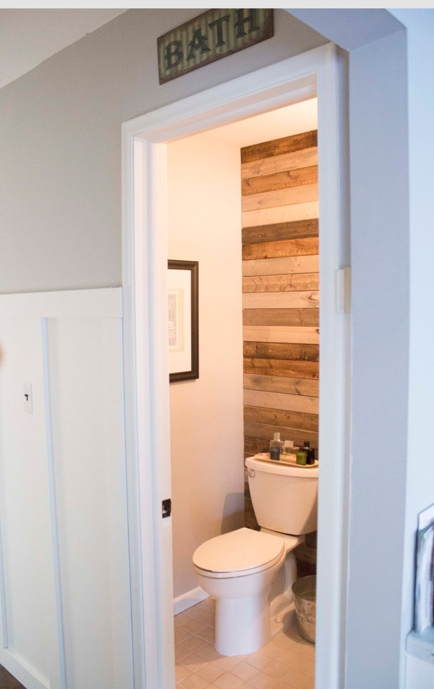 Easy Plank Wall