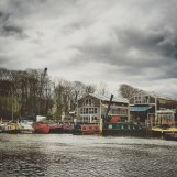 I've been freelancing here, on Eel Pie Island, for a couple of weeks.
