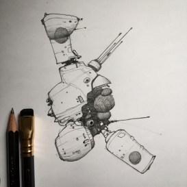 Spaceships.