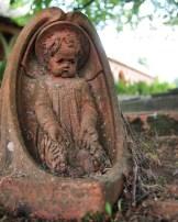 A watching cherub