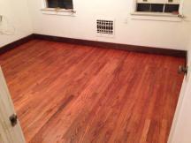 Gunstock stain by MinWax, on red oak floors