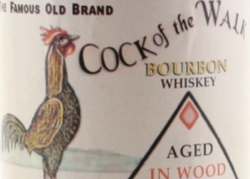 Cock of the walk 12 bourbon whiskey consider