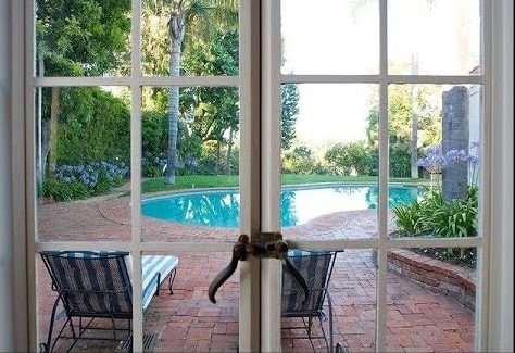 Marilyn Monroe's Brentwood House French Doors