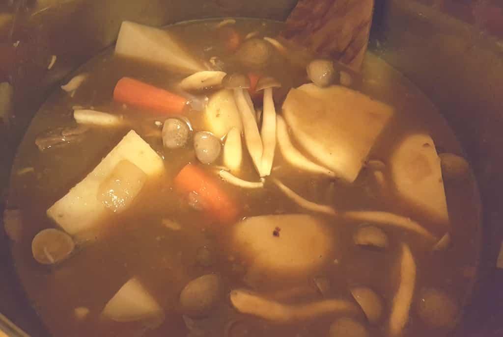 Add the Curry Blocks