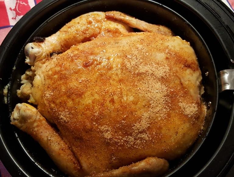 Chicken Breast Side Up