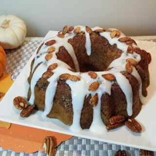 Iced Buttermilk Sugar Pie Pumpkin Bread