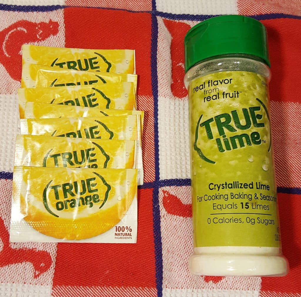 True Orange and True Lime
