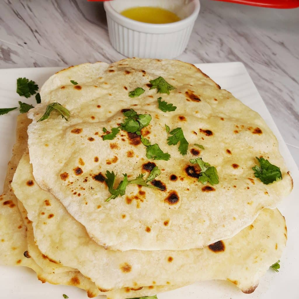 Yogurt Whey Indian Chapati