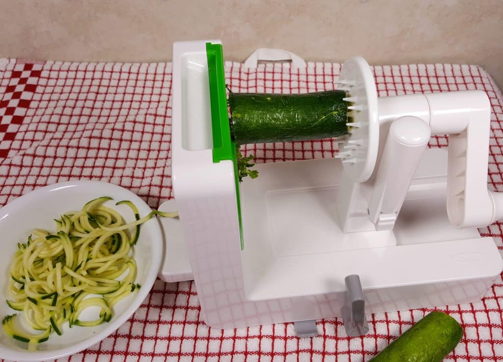 Use a Spiralizer to Make the Zoodles