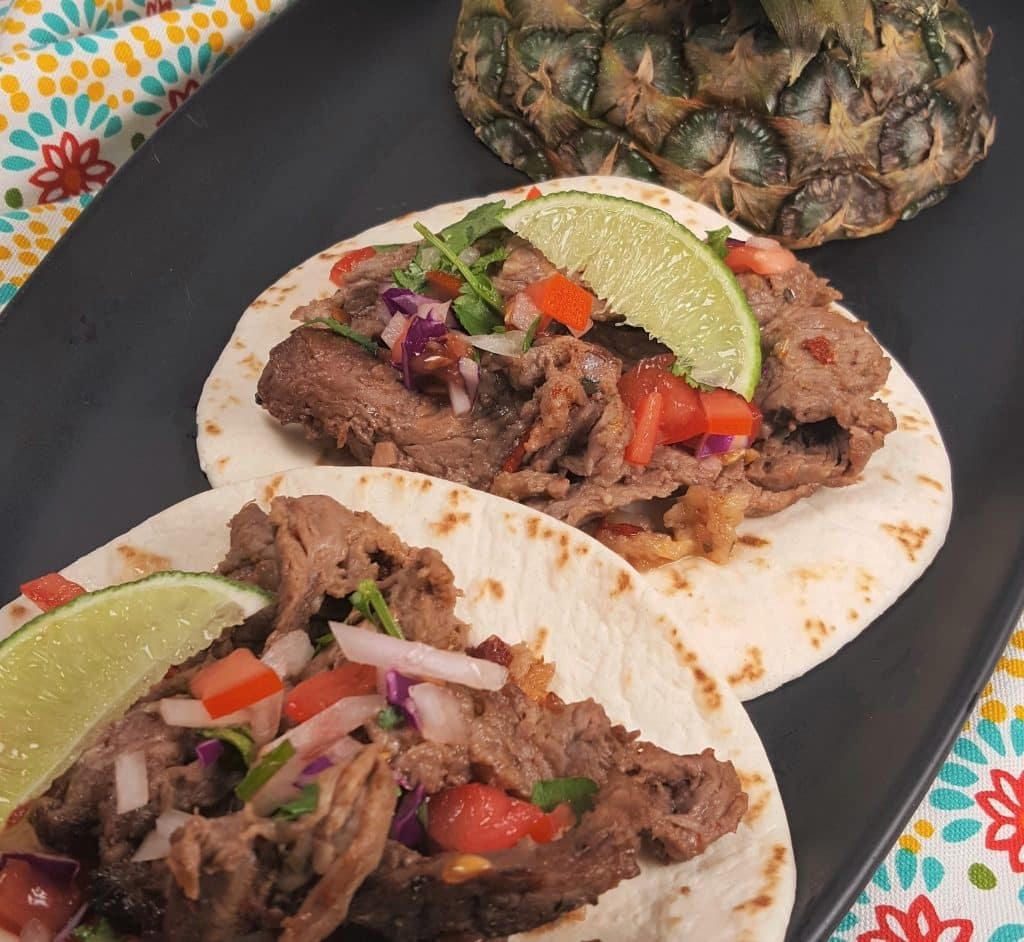 Air Fryer Mexican Street Tacos