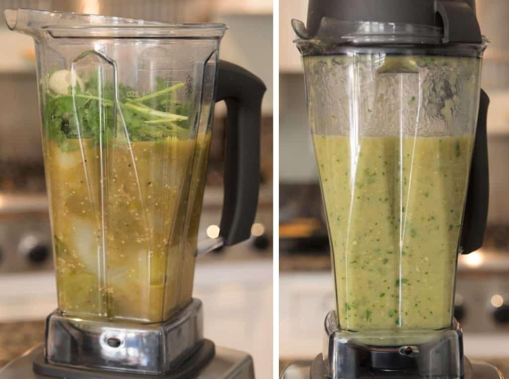 Process the Salsa Verde
