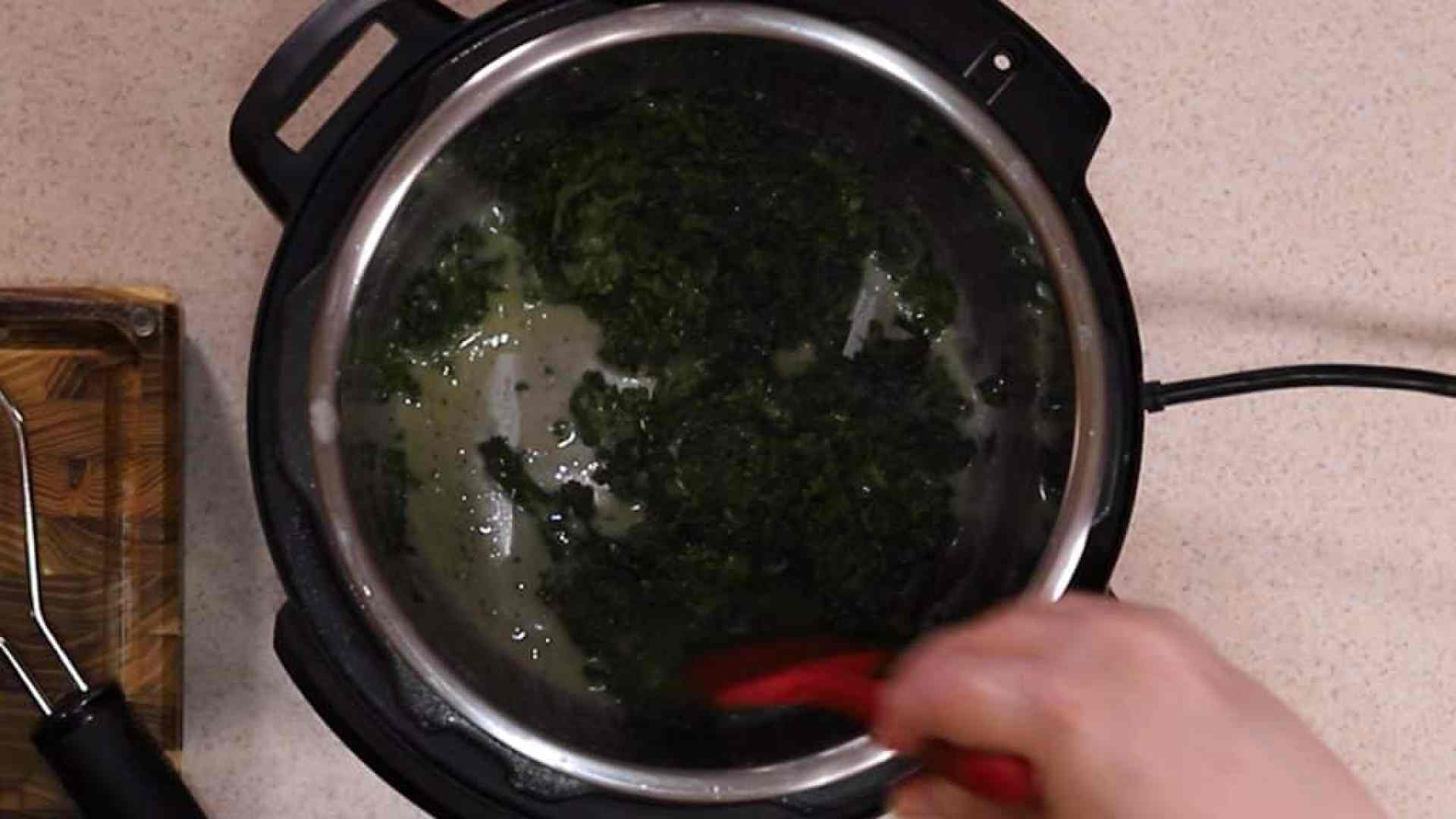Sauté Kale Until Totally Wilted
