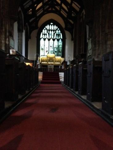 Inside the Holy Trinity