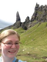 The Old Man of Storr up close