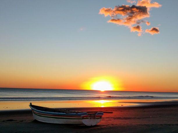 Sunset on Sihuapilapa Beach