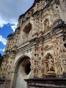 Front of Convento Santa Clara, Antigua