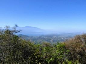 View of Lago Yojoa from Cerro Azul Neambar