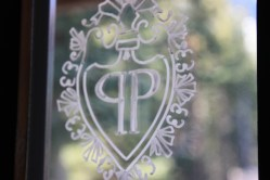 The Plaza Symbol graces the front door upon entry.