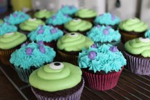 Mike and Sully cupcakes.