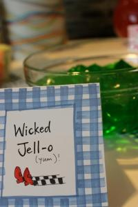 Wicked green Jell-0