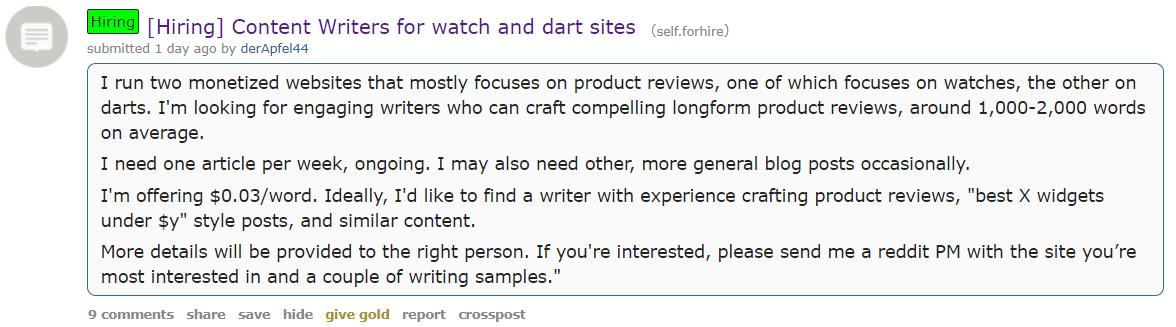 reddit-job-hunting