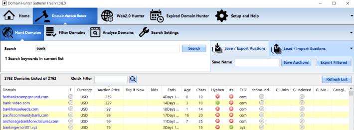 domain-hunter-gatherer-interface