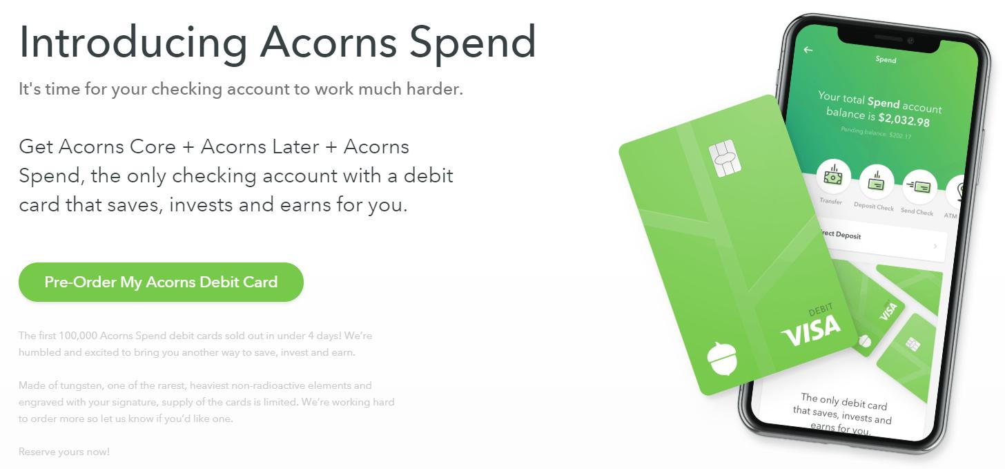 Acorns-Spend-Card