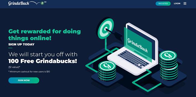 Grindabuck-website