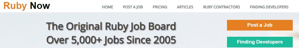 RubyNow-remote-job-website