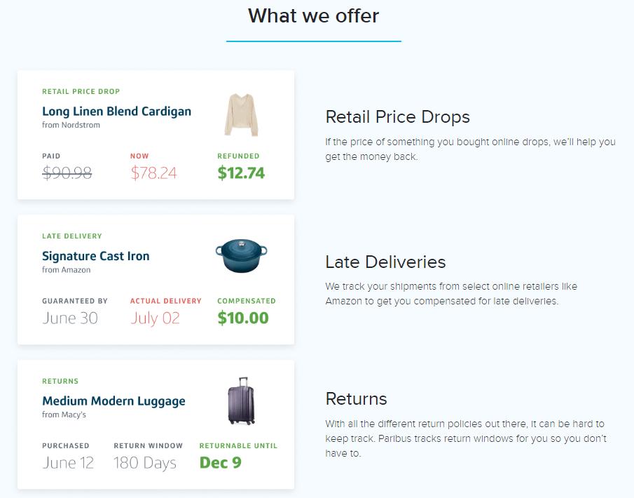 paribus-price-protection
