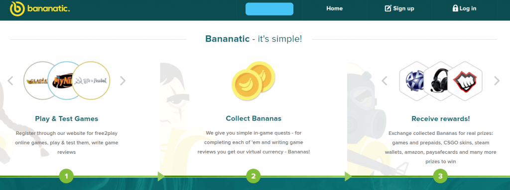 Bananatic-website