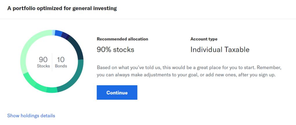 Betterment-portfolio