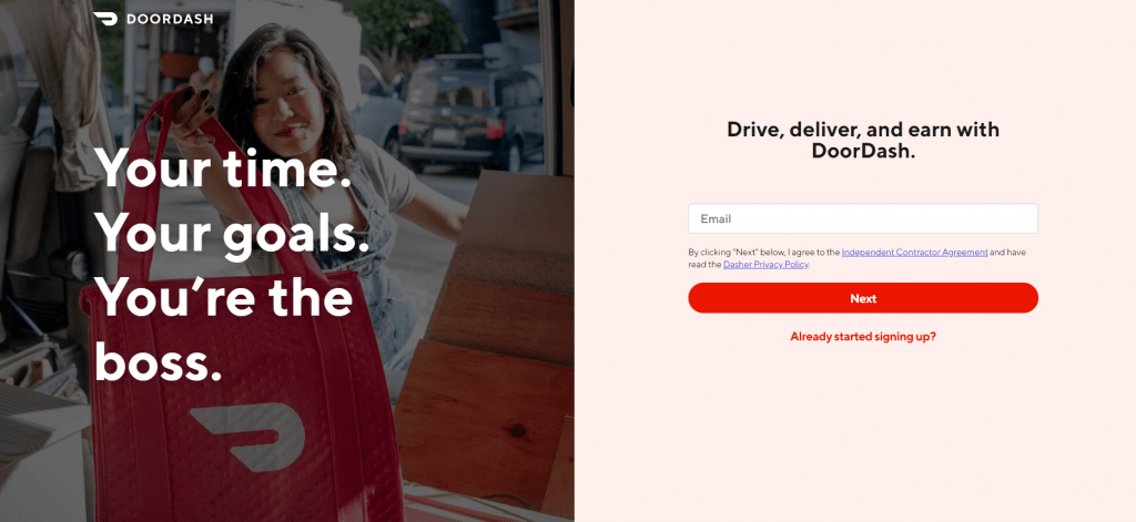 Deliver-For-DoorDash
